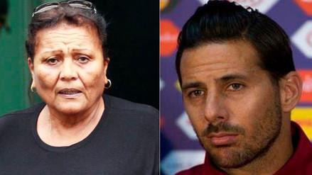Mamá de Paolo Guerrero se disculpó con Claudio Pizarro: