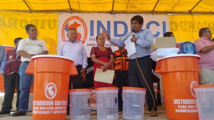 Entregan 23 toneladas de ayuda humanitaria a familias afectadas de Mórrope