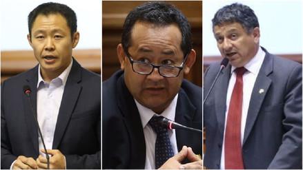 Subcomisión del Congreso recomienda la destitución de Fujimori, Bocangel y Ramírez