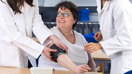 La hipertensión arterial complica el estado de los pacientes con obesidad