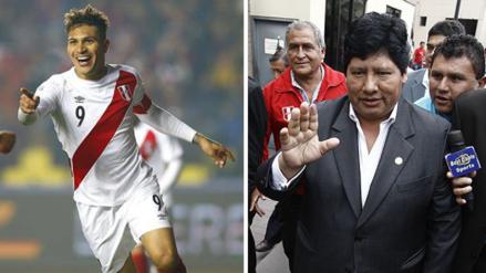 Paolo Guerrero se reunió con Edwin Oviedo en la Videna
