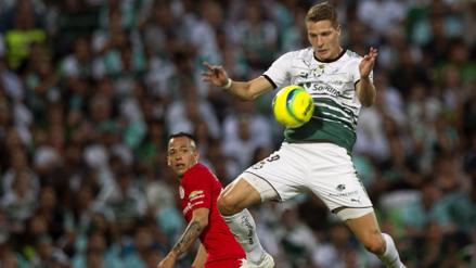 Santos Laguna le volteó el partido a Toluca en la primera final del Clausura 2018