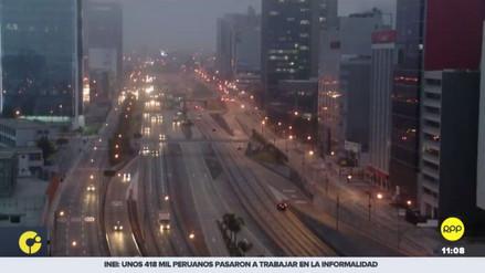 La cámara aérea de RPP Noticias registró el sismo de esta mañana