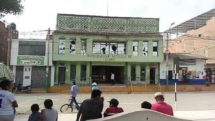 Policía tomó control en municipio de Olmos tras protesta de pobladores