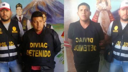 """Policía detiene a dos presuntos """"marcas"""" en Arequipa"""