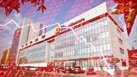 Acciones de Graña y Montero caen más de 10% en la Bolsa de Valores de Lima