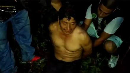 La Policía rescató a comerciante mayorista que fue secuestrado en Pucallpa