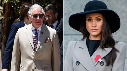 Boda real: el príncipe Carlos acompañará al altar a Meghan Markle