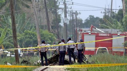 Tres personas sobrevivieron al accidente aéreo en Cuba