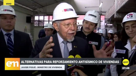 Javier Piqué pide a municipios no formalizar viviendas mal construidas