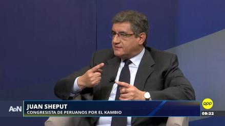 Sheput pidió al Ejecutivo más coordinación con la bancada oficialista