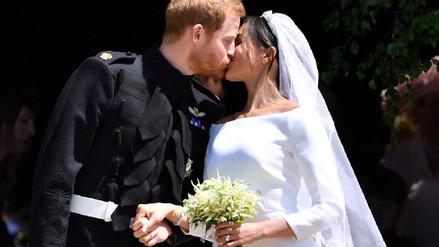Boda real: Las primeras imágenes del príncipe Harry y Meghan Markle como esposos [FOTOS]