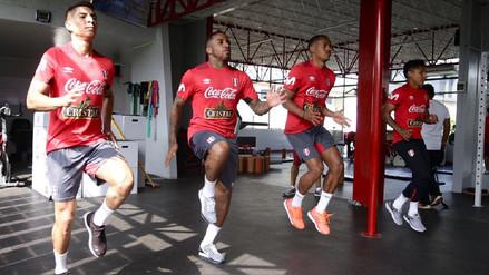 Con Jefferson Farfán, la Selección Peruana terminó su décimo día de prácticas