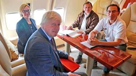 El canciller del Reino Unido visitó el Perú: estas fueron sus actividades