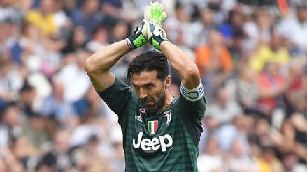 Gianluigi Buffon fue ovacionado en su último partido con Juventus