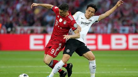 Bayern Munich cayó ante Eintracht Frankfurt en la final de la Copa Alemana