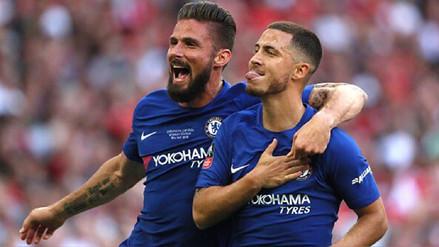 Chelsea venció al Manchester United y se consagró campeón de la Copa FA