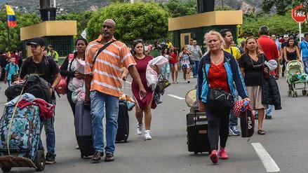 Más de 59 mil ciudadanos venezolanos salieron del Perú por Tacna rumbo a países del sur