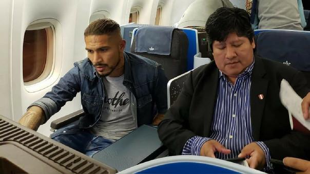 Paolo Guerrero viajó a Suiza para reunirse con el presidente de la FIFA