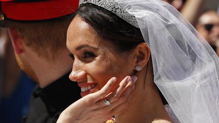 El anillo de oro de Meghan Markle fue un regalo de la reina Isabel II