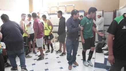 Le robaron a jugadores del Sportivo Huracán durante partido de la Copa Perú