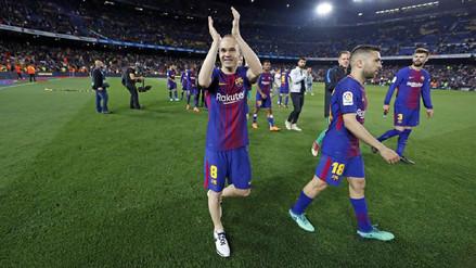 Andrés Iniesta tras despedirse del Barcelona: