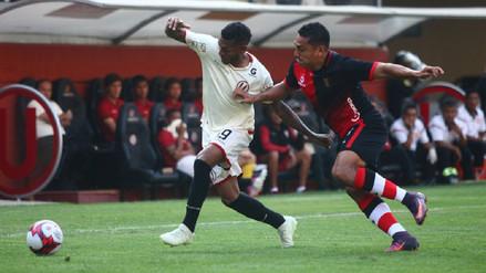 Universitario empató ante Melgar en su debut en el Torneo Apertura