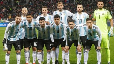 Jorge Sampaoli presentó la lista oficial de la Selección Argentina para Rusia 2018