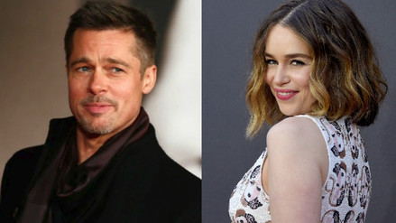 Brad Pitt ofreció US$ 120 mil por una cita con Emilia Clarke
