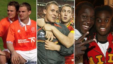Hazard y Lukaku: los hermanos que jugaron en un mismo Mundial