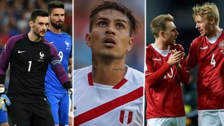 Los capitanes de Francia, Dinamarca y Australia mostraron su apoyo a Guerrero