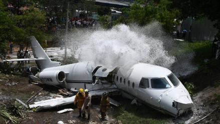 Honduras | Un jet ejecutivo con matrícula de Estados Unidos se accidentó en aeropuerto