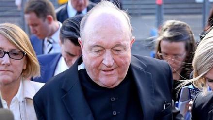 Un arzobispo australiano fue condenado por encubrir casos de abusos sexuales a menores