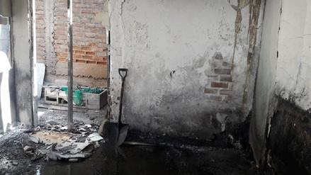 Lambayeque: incendio en vivienda deja dos personas heridas