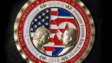 Cumbre entre Donald Trump y Kim Jong-un tendrá una moneda conmemorativa