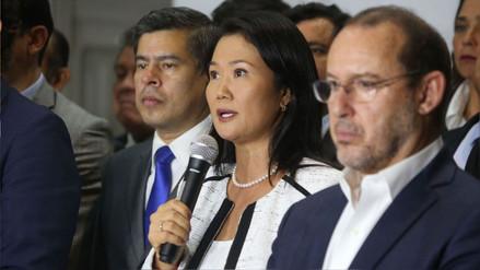"""Keiko Fujimori sobre compras del Congreso: """"Es un material que ellos necesitan"""""""