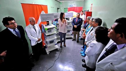 En junio recién se usarán equipos donados por Cerro Verde al hospital Honorio Delgado