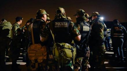 La Policía desbarató dos bandas criminales en megaoperativos en Paramonga y Ricardo Palma