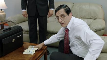La transformación de Miguel Iza en Vladimiro Montesinos para el filme