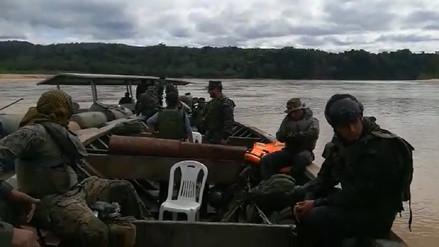 Personal de la Marina es atacado en operativo contra tráfico ilegal de combustible en Madre de Dios
