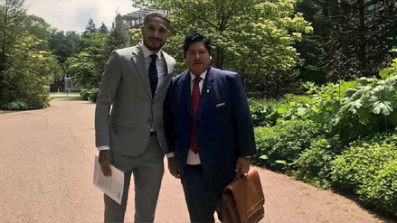 Culminó la reunión entre Paolo Guerrero y el presidente de la FIFA en Suiza