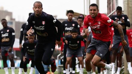 Edison Flores se sumó a los entrenamientos de la Selección Peruana