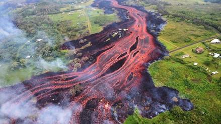 Peligro en Hawái: un río de lava del volcán Kilauea acecha una planta eléctrica
