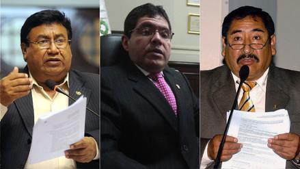 Los congresistas que fueron desaforados en los últimos años