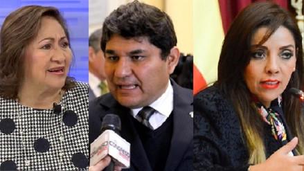 Tres congresistas por Arequipa pidieron  televisores y frigobar