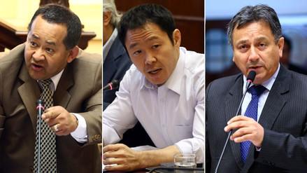 Comisión Permanente aprobó informe que recomienda el desafuero de Fujimori, Bocángel y Ramírez