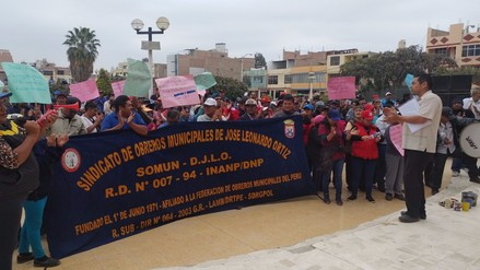 Obreros de Leonardo Ortiz acuerdan suspender inicio de huelga