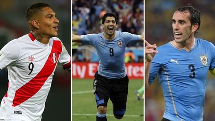 Luis Suárez y Diego Godín envían mensajes de apoyo a Paolo Guerrero