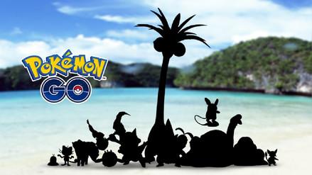 Nueva actualización trae a las formas Alola a Pokémon Go