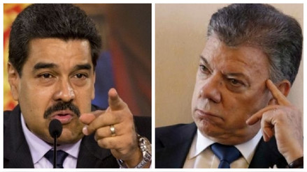 Maduro acusó a Santos de preparar